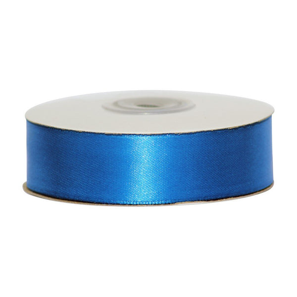 Royal Blue - 25mm x 25m - Satin Ribbon - Double Sided