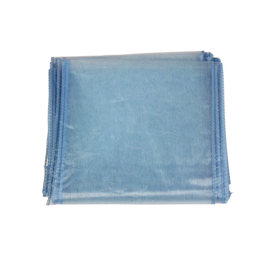 Organza Sash - 10pcs - Light Blue