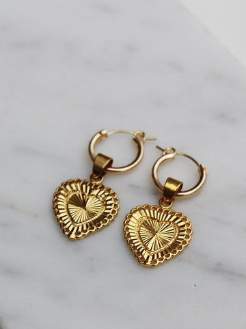Hearts Aligned Earrings