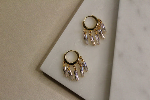 Diana Chandelier Hoops