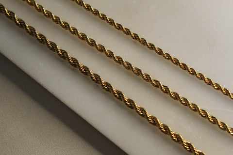 Rope Chain (3 sizes)