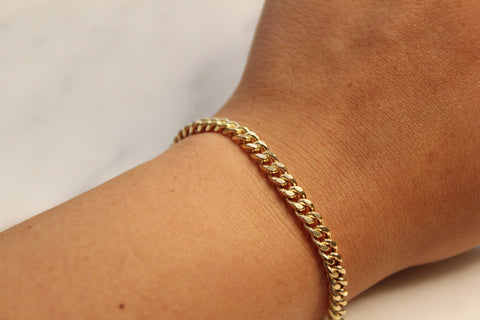 Large Cuban Chain Bracelet