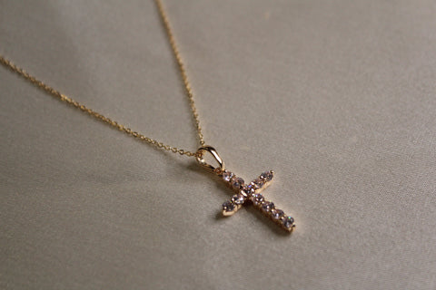 Sicily Cross Necklace