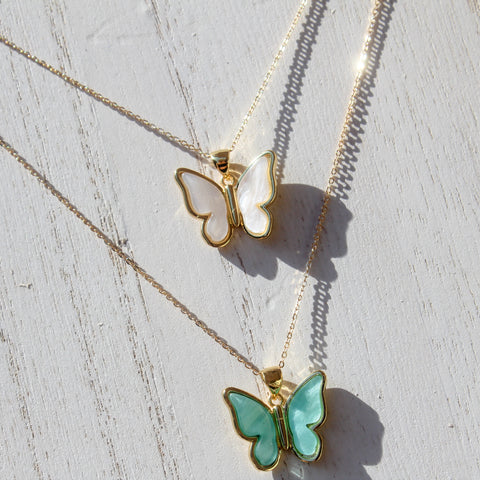 Leah Butterfly Necklace