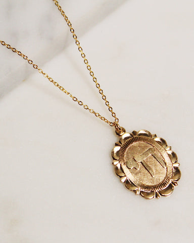 Hay (Life) Oval Necklace