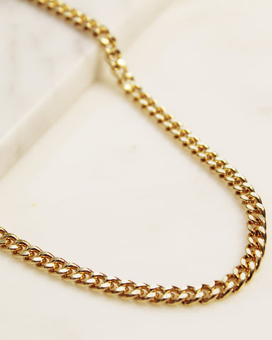 Large Cuban Chain Anklet