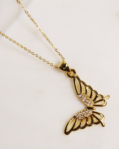 Bali Butterfly Necklace