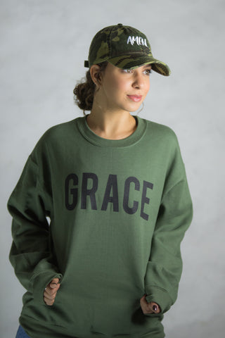 Grace sweatshirt Military Green