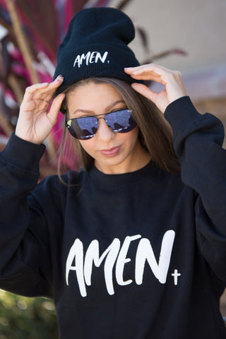 Amen Fleece crew neck