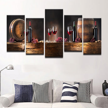 5 Pieces Wall Canvas