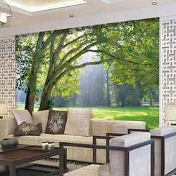 DIY 3D Wall Murals Sunlight Garden