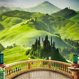 3D Wall Murals Amazing Hill