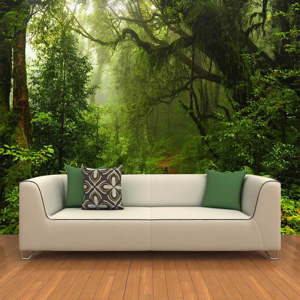 DIY 3D Wall Murals Primeval Forest