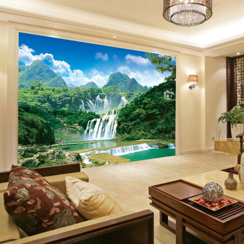 3d Wall Murals Wallpaper Nature Landscape Home Decor Craft