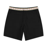Parrot Cays Black - Athletic Stretch Swim Trunk