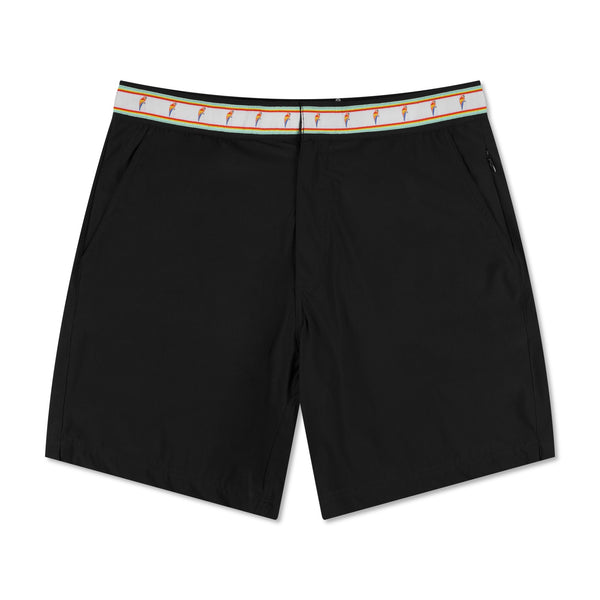 Parrot Cays Black Swim Shorts