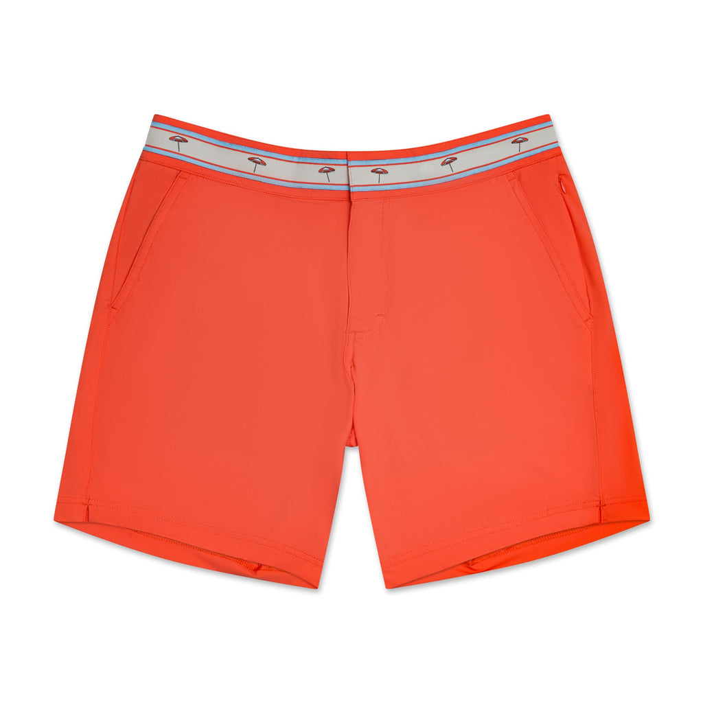Turks & Caicos Coral Swim Shorts