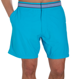 Bugaloo Blue Wave - Athletic Stretch Swim Trunk