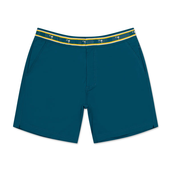 South Carolina Palmetto - Athletic Stretch Swim Trunk