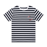 Feelin' OKAICOS Navy Stripe T-Shirt