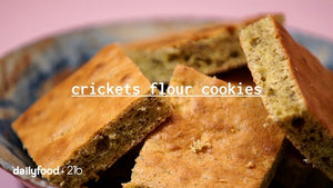 Moringa and crickets flour biscuit
