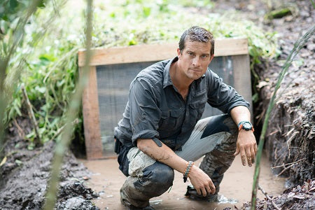 Bear Grylls edible insects