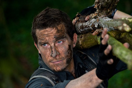 Edible insects Bear Grylls