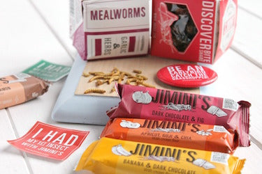 Jimini's products edible insects
