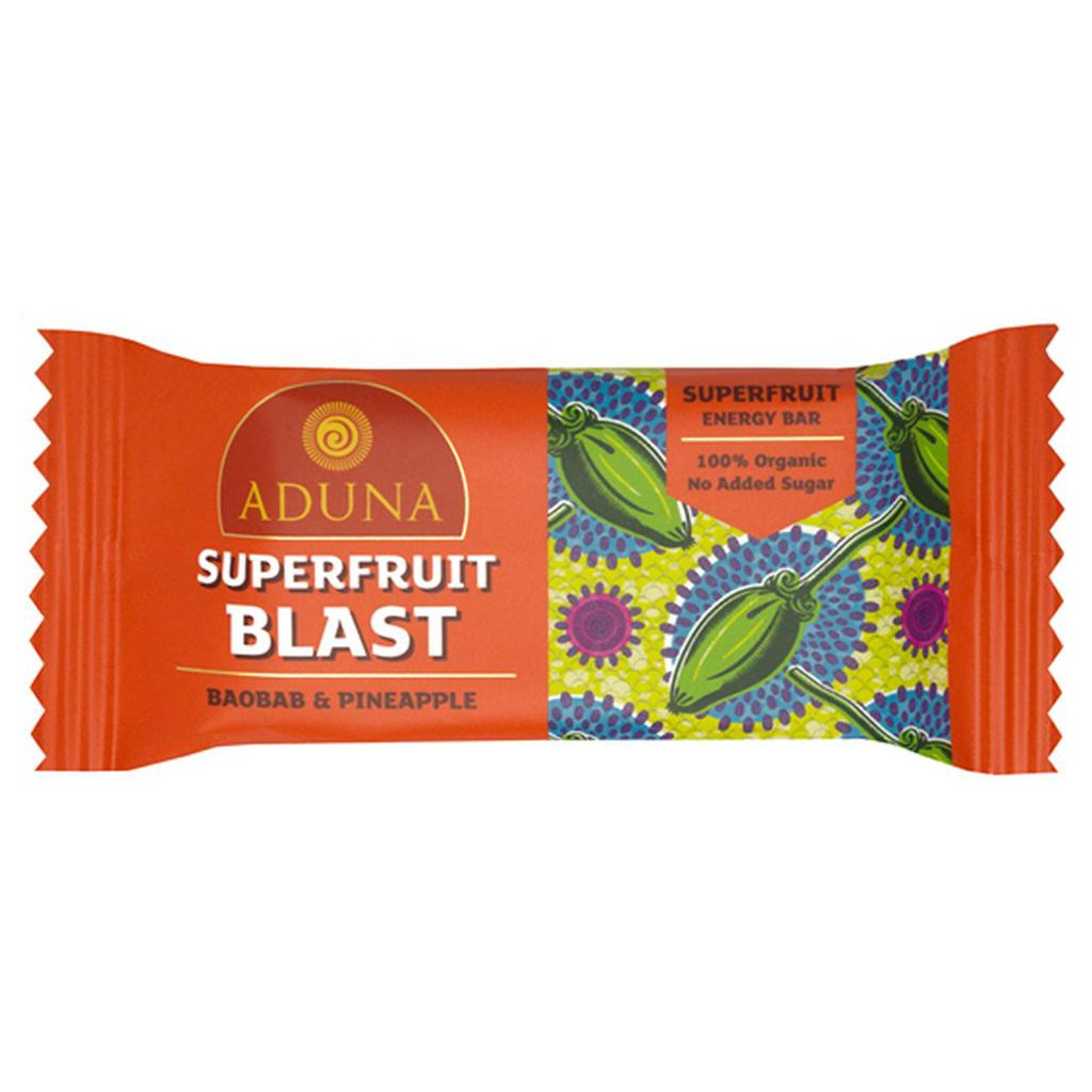 Aduna Baobab Superfruit Blast energy bar