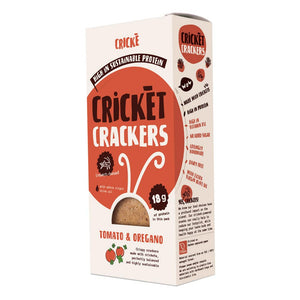 Crickè - Red tomato & Oregan cricket crackers