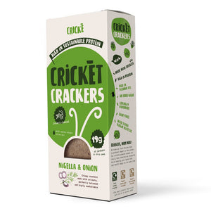 Crickè - Nigella & Onions cricket crackers