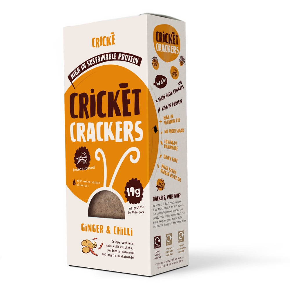 Crickè - Ginger & Chilli cricket crackers