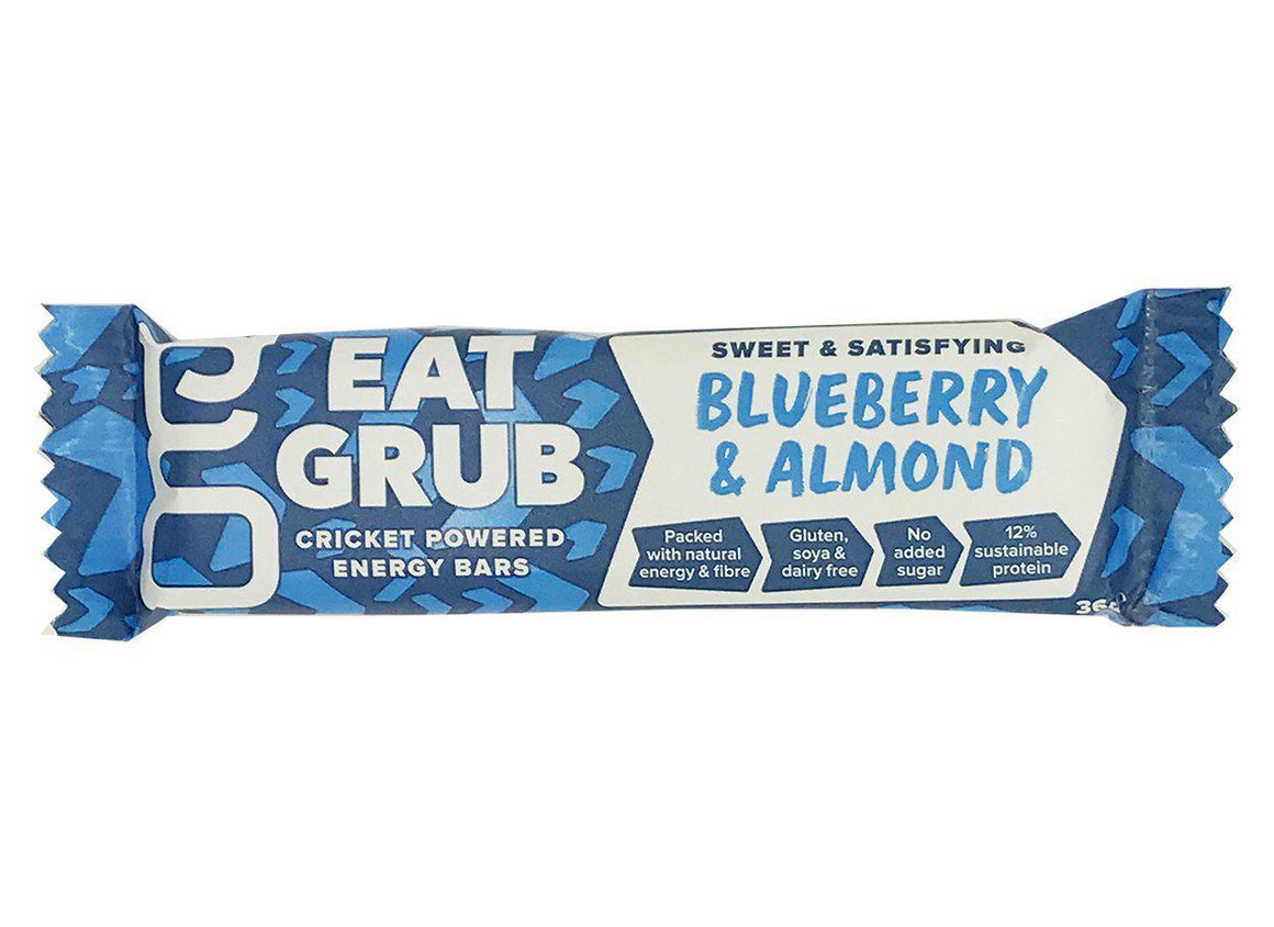EatGrub Blueberry & almond energy bar