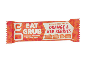 EatGrub Orange and Cranberry energy bar