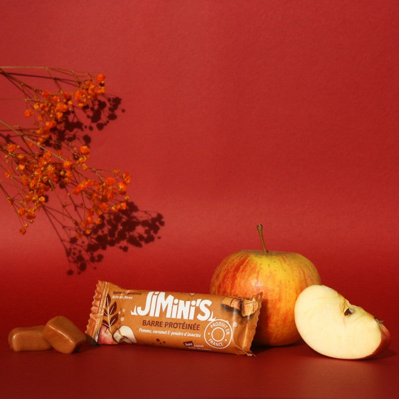 Jimini's - Apple Caramel protein bar