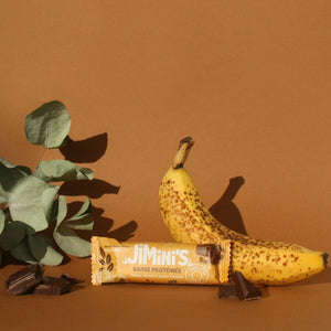 Jimini's - Banana Dark Chocolate insect protein bar
