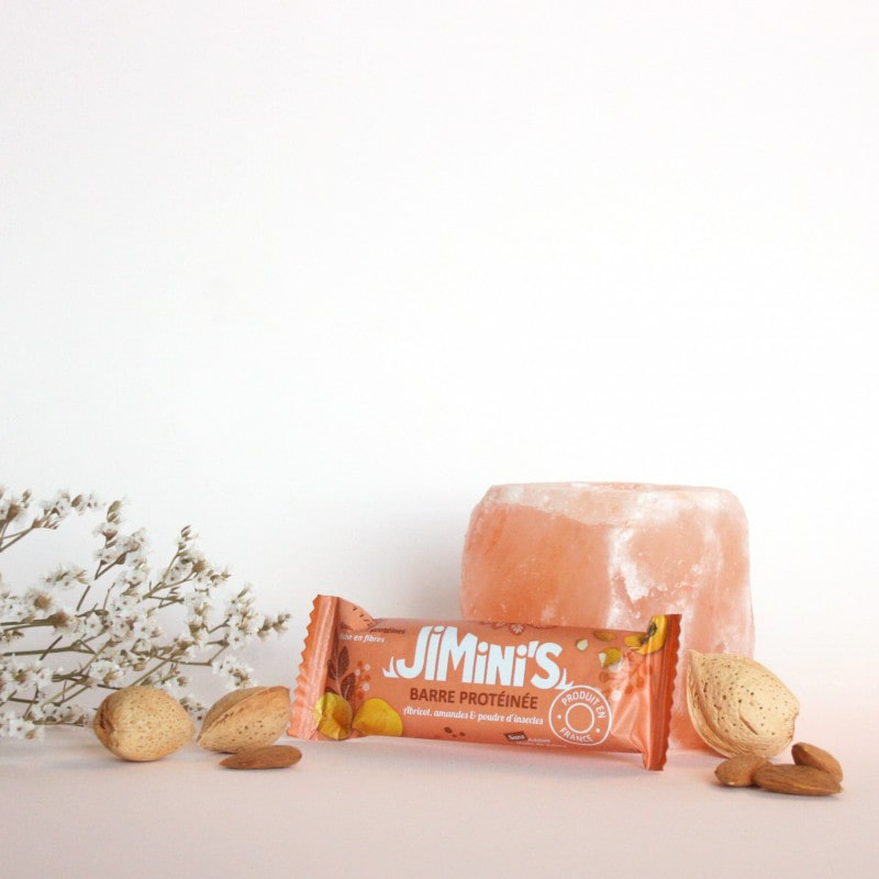 Jimini's - Apricot almonds insect protein bar