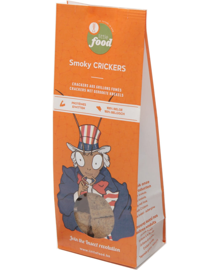 Little Food - Smoky crickers