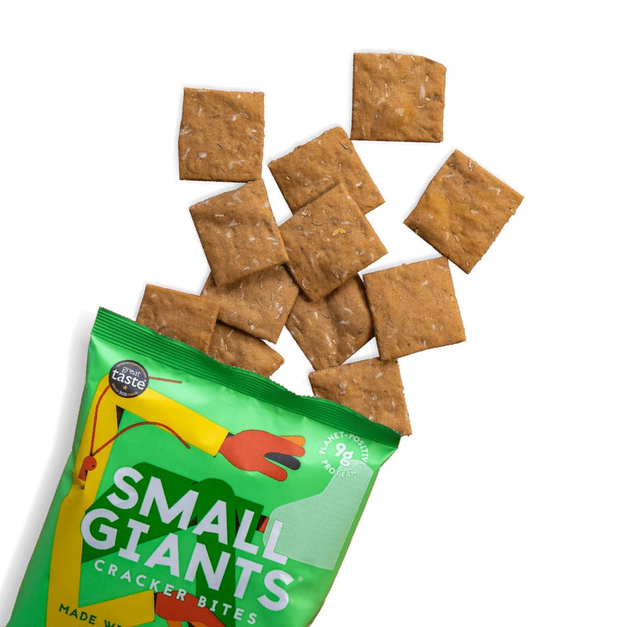 Small Giants - Rosemary & Thyme cricket crackers
