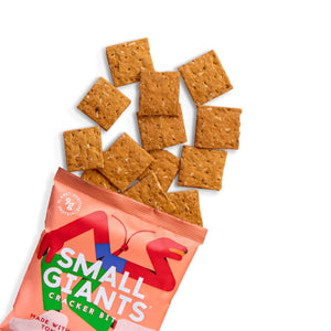 Small Giants - Red tomato & Oregano cricket crackers