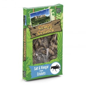 Bush Grub - Salt & Vinegar Flavour Crickets
