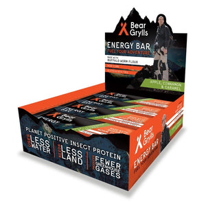 Bear Grylls Energy Bar - Apple, Cinnamon & Caramel