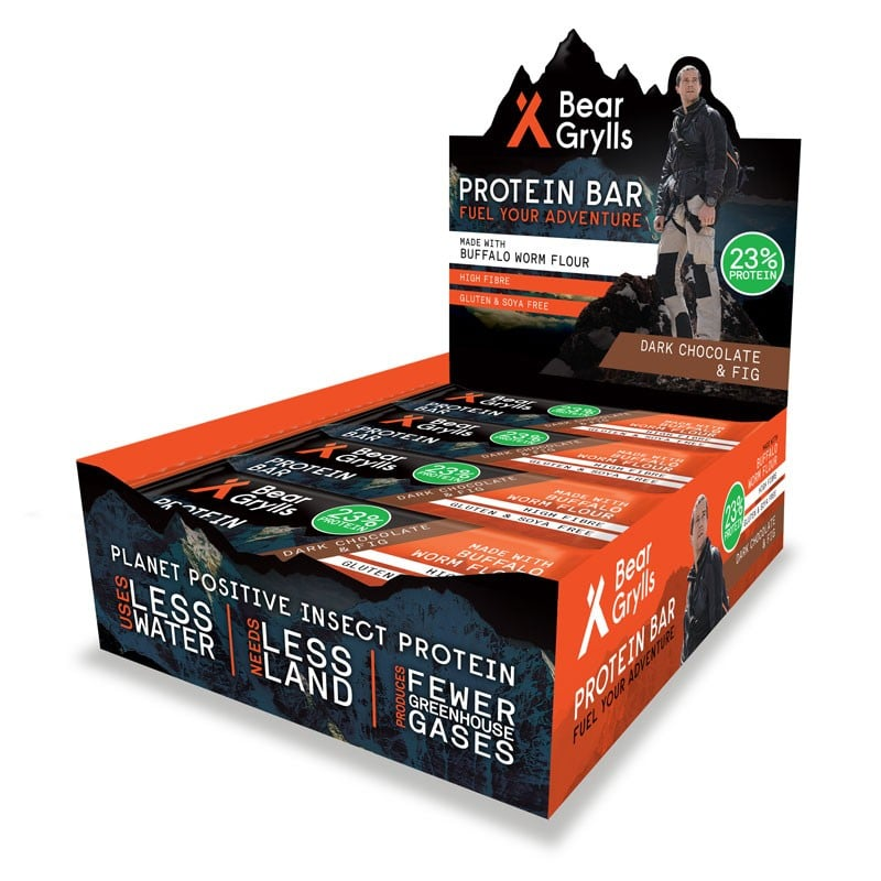 Bear Grylls Protein Bar - Dark Chocolate & Fig