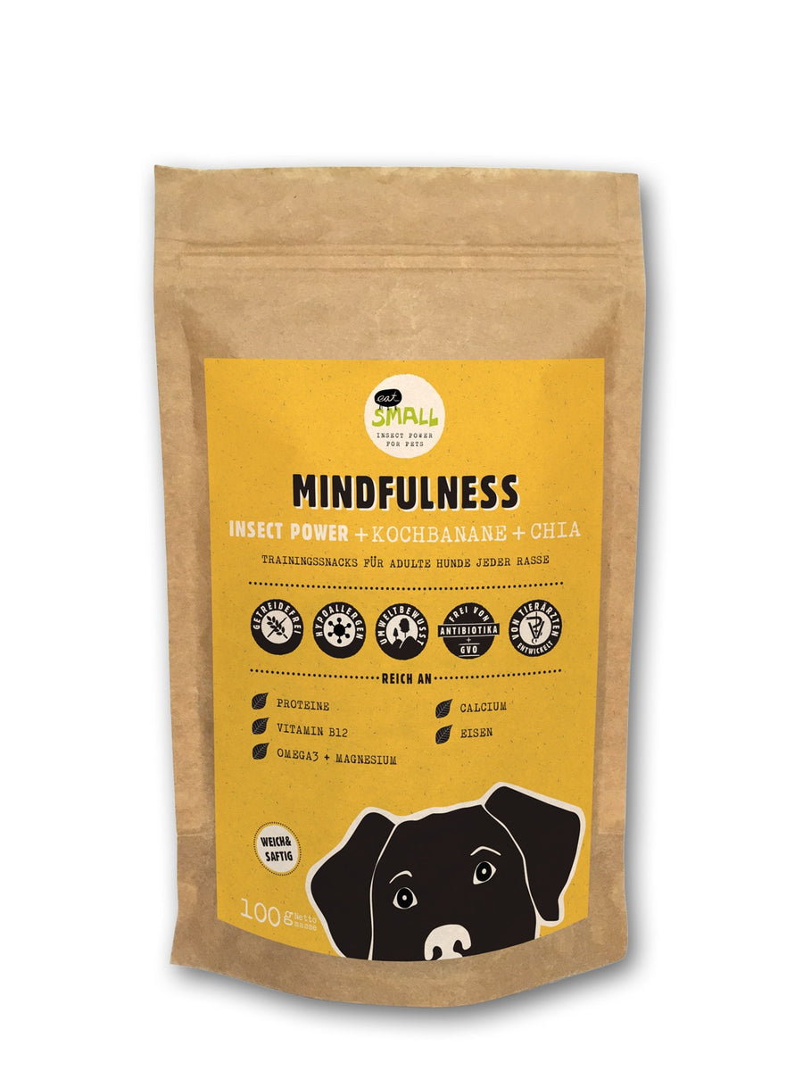 Eat Small - Mindfulness dog treat
