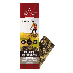 Micronutris - My Impact Fruit chocolate energy bar