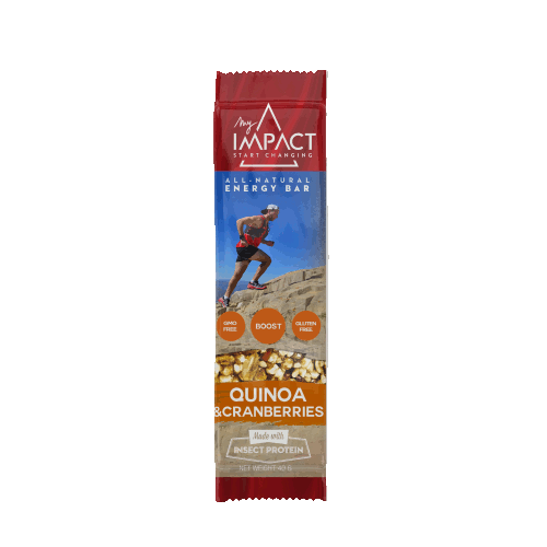 Micronutris - My Impact Quinoa and cranberries energy bar