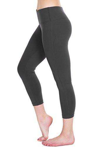 Yoga Capris for Women - Hidden Pocket