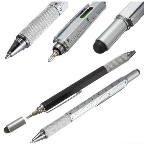 6 In 1 Multi-function Tool Ballpoint Pen