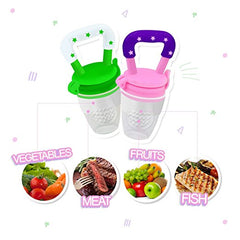 2Pack Baby Fruit Feeder Pacifier