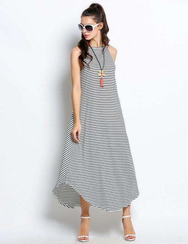 Long Maxi Swing Dress